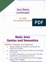 Java Concepts Java Basics
