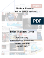 Social Media in Elections