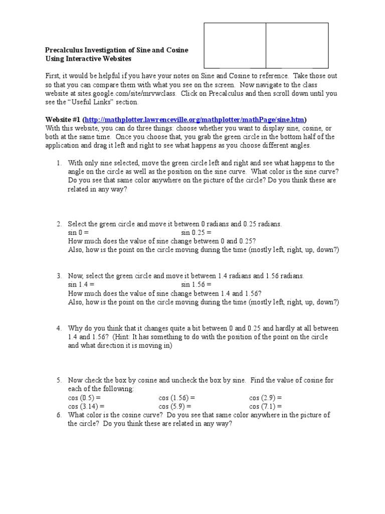 Dorable Precalculus Help Websites Ornament - Worksheet Math for ...