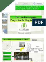 Herramientas Para Proyectos de Biogas