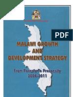 Malawi Growth & Development Strategy, From Poverty to Prosperity (2006 - 2011))