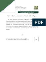 Comunicado de Prensa-Rector Informa Jueves 23 de Agosto-Rev