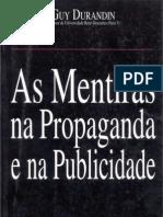 O Livro Das Mentiras Na Propaganda e Na Publicidade