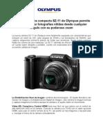 Olympus presenta su nueva cámara compacta SZ-11