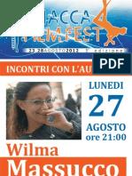Wilma Massucco a Sciacca Film Festival 2012 - incontri con l'autore