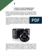Samsung presenta su nueva cámara smart NX1000