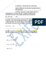 Sucesiones Infinitas y Notación de Sumatoria [Marcel]