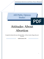 Attitudes About Abortion 39 Years of Polling