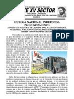 Pronunciamiento Sobre La Huelga Nacional y Analisis sobre el Anteproyecto de Ley de la Reforma Magisterial