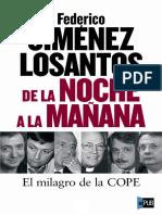 Federico J Losantos. de La Noche a La Manyana (v1.1 ePUByrm)