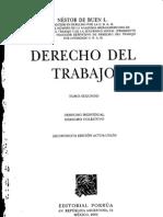 Derecho Del Trabajo - Tomo Segundo - Nestor Del Buen l.