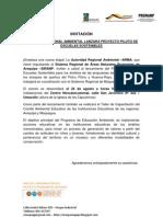 INVITACIÓN - AUTORIDAD REGIONAL AMBIENTAL