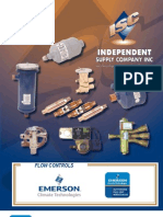 Emerson Flow Control Valves