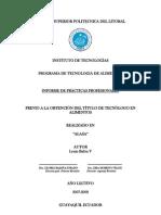 Informe de Practicas Profesionales ALASA