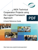 Designing IAEA TC Projects Using the LFA 15-05-2012