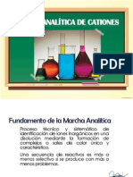 Marcha Analítica de Cationes