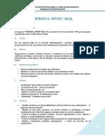 Desiciones Gerenciales en La Imprenta OFFSET REAL