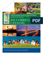Education and the Environment Initiative Curriculum Catalog