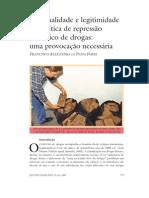 Racionalidade e legitimidade da política de repressão ao tráfico de drogas