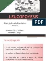 LEUCOPOYESIS