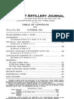 Coast Artillery Journal - Oct 1924