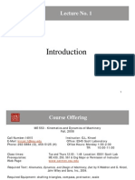 Lecture 1 - Introduction (1!4!10)