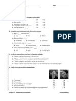 UNIT 05 Video Worksheets