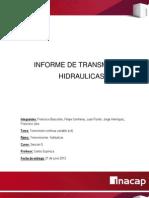 Informe de Transmision Cvt