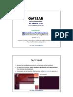 GMTSAR Installation for ALOS PALSAR data processing