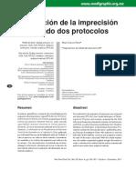 Calculo de Precision Intralaboratorio