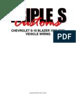 Chevrolet S-10 Blazer 1983-2005