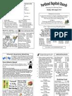 PBC Bulletin - August 26