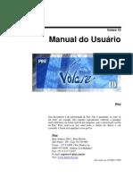 Manual do Usuário Volare 10