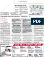 TODAY 28 June 2010 Singapore Libel