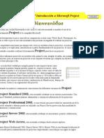 Lección 1ª Introducción a Microsoft Project