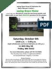 Grand Opening Oct 6 Flier