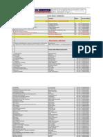 Lista de Precos Setembro 2011
