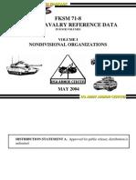 FKSM 71-8 May 2004 VOL I Nondivisional Organizations
