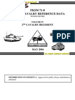 FKSM 71-8 Vol IV 2nd Cavalry Regiment may