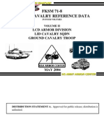 FKSM 71-8 May 2004 Vol II Lcd Armor Div Lid Cav Sqdn