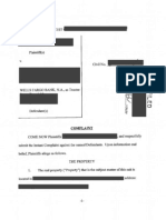 Complaint (Redacted) overcoming demurrer in a securitized mortgage case