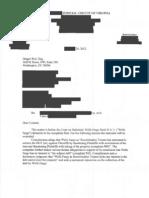 Order Overruling Wells Fargo's Demurrer (Redacted) in a securitization case