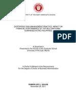 Sample Thesis or Dissertationnn