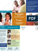 Save the Date for Prostate Cancer Education in Detroit for Barbers and Stylist
