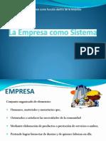 Clase 1 - La Empresa Como Un Sistema