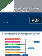 14_Cui Jining_SLB_SPE Shekou HSE_Schlumberger HSE Management