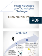Solar Power Evolution