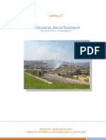 Capitulo 7- La Calidad Del Aire en Tegucigalpa