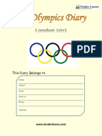 My Olympics Diary Stage 3