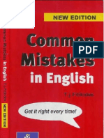 Common Mistakes in English Grammar